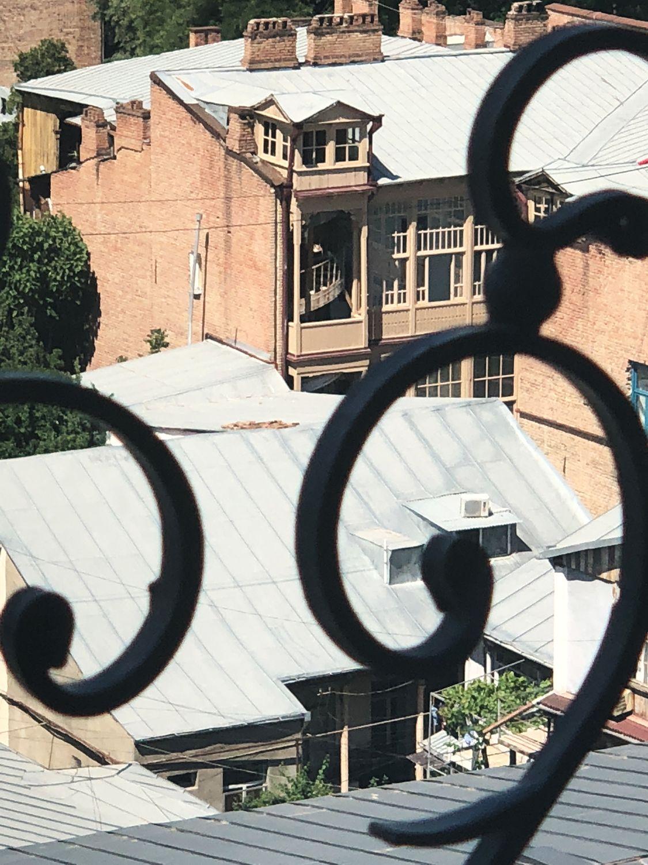 Тбилиси - вид с балкончика